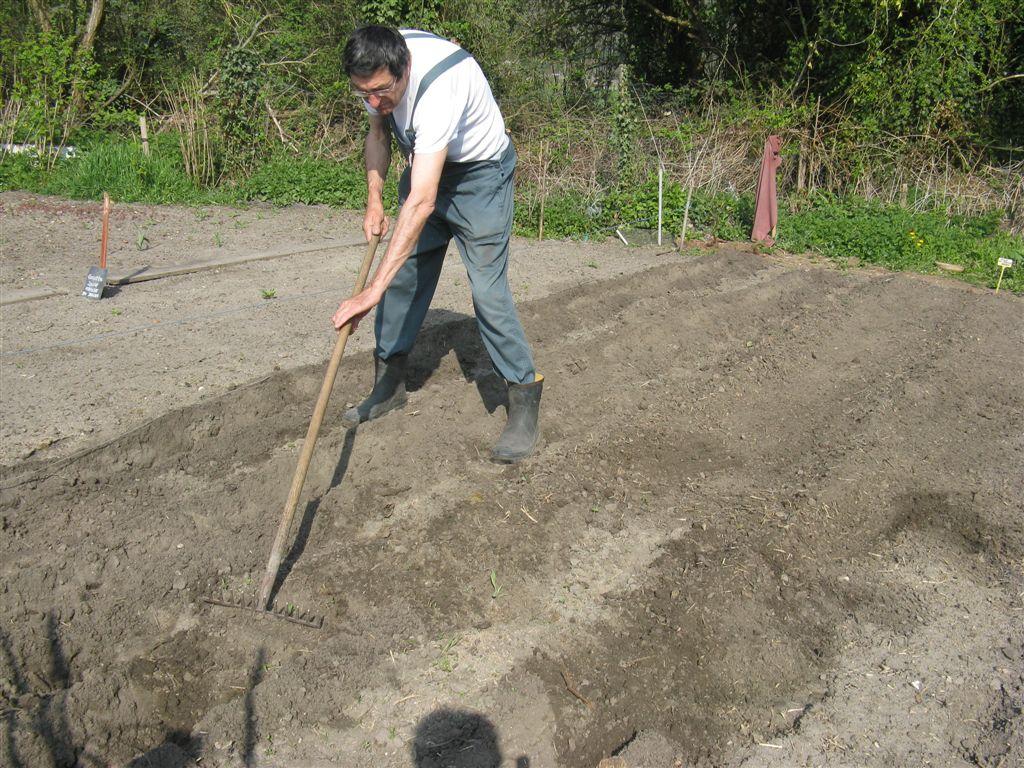 Préparation d'un semis