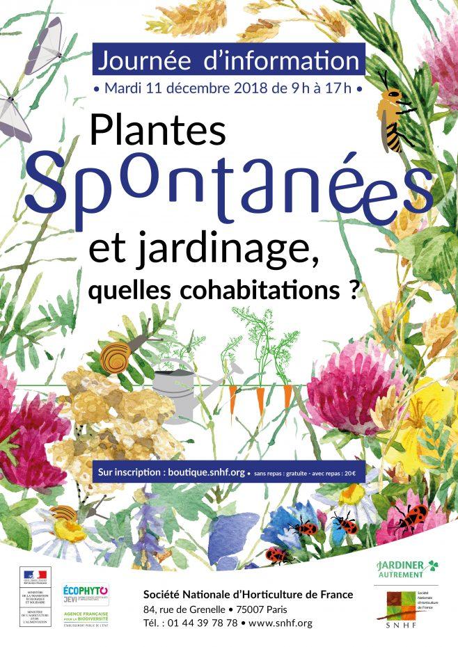 journée d'information : plantes spontanées et jardinage, quelles cohabitations?