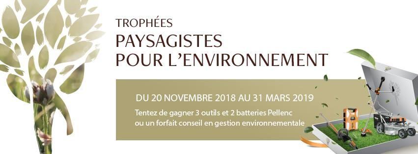 trophées du paysagistes pour l'environnement