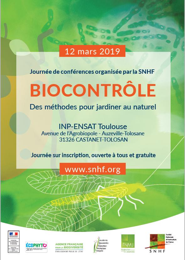 Affiche Toulouse biocontrôle