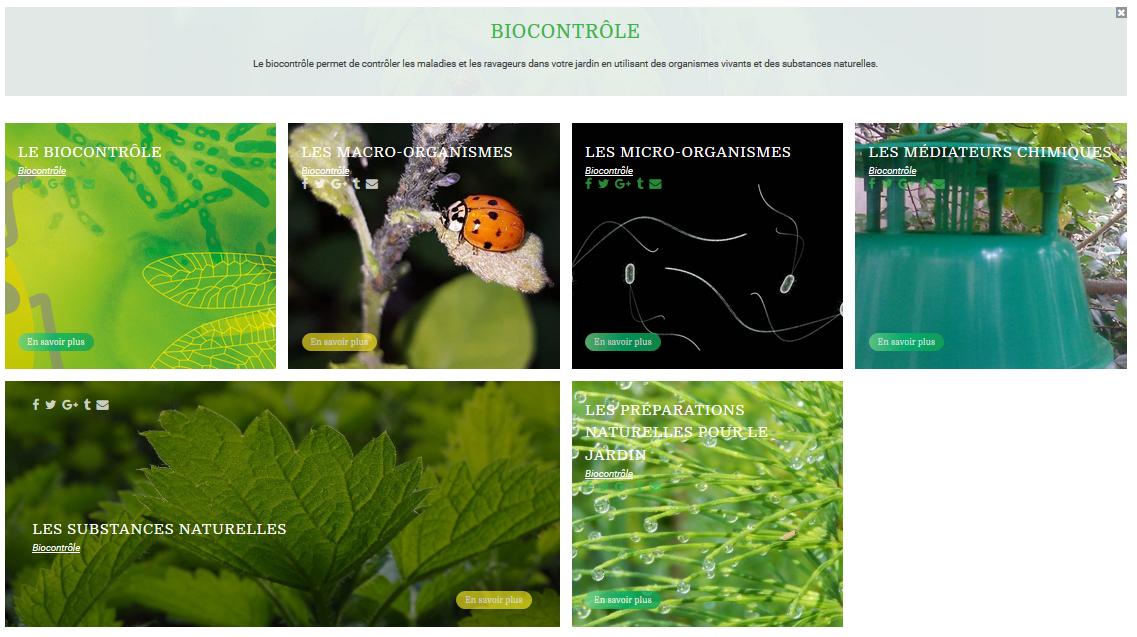 Biocontrôle page