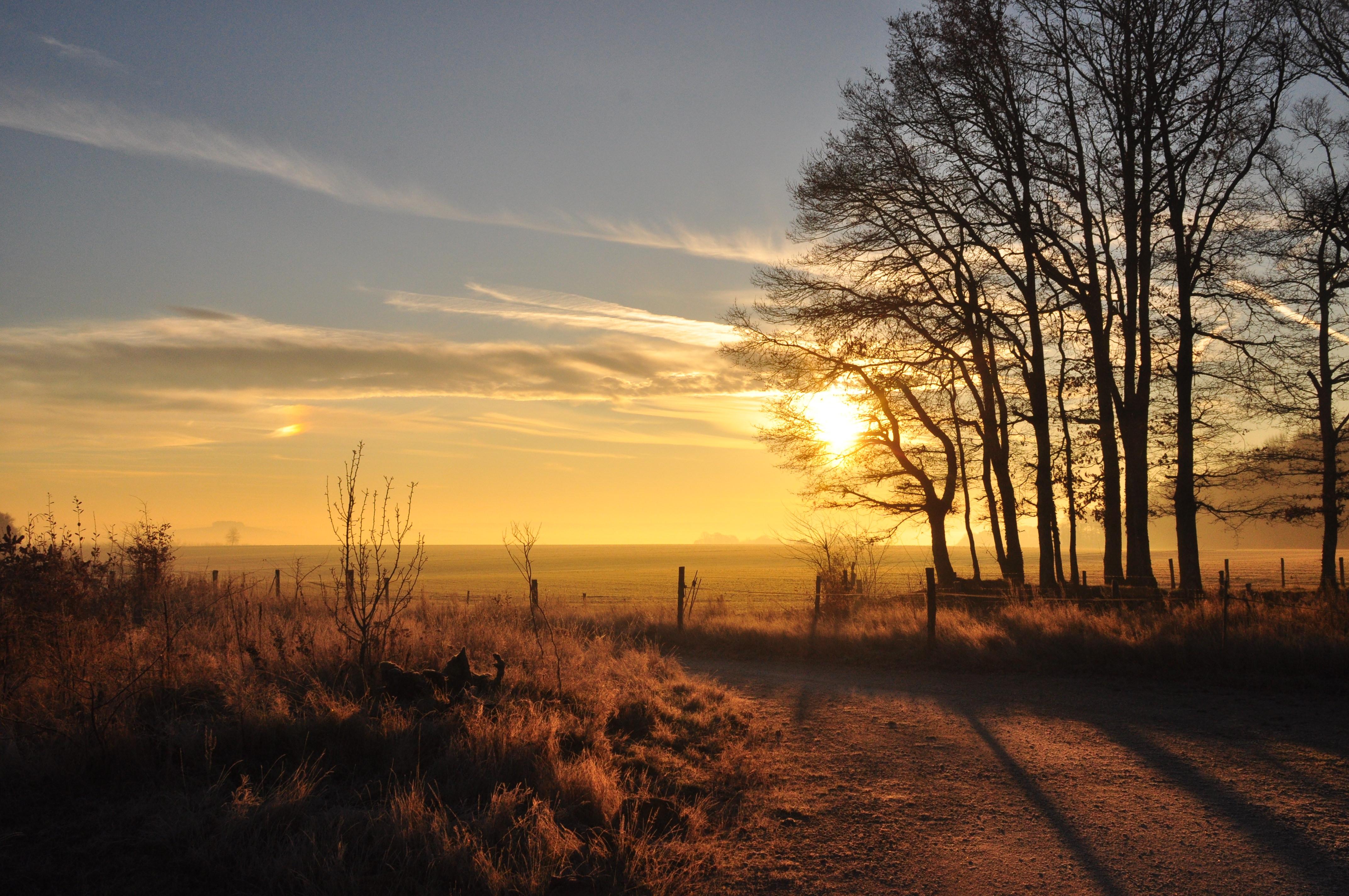 Le Flérial à l'aube (© Eric Lenoir)