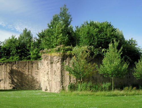 Vue du parc Matisse à Lille