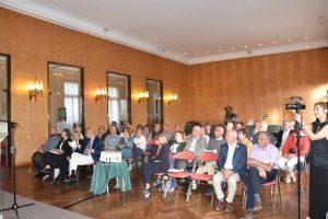 Cérémonie de remise des prix : Salon d'honneur de l'hôtel de ville de Fontainebleau