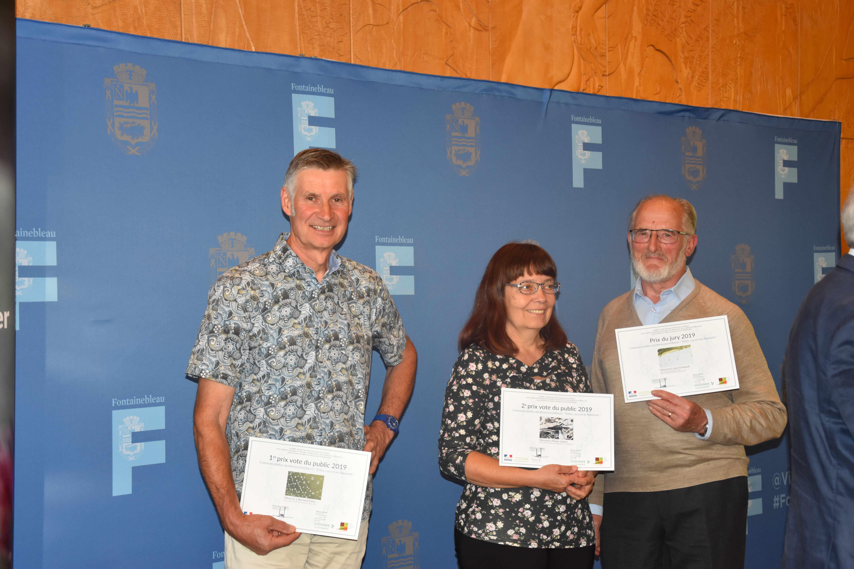 Lauréats du concours photo: Bernard PATRY, Eliane LEBRET, Jean CHABAULT