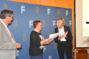 Remise des Prix: Jean ARIBAUD (Hérault) - Remplacé par sa soeur Paulette SCHLOTTER