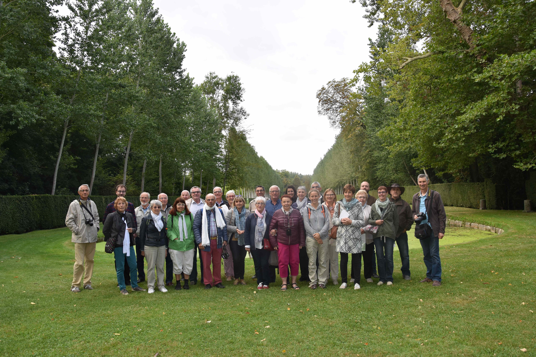 Visite du Chateau de Courances