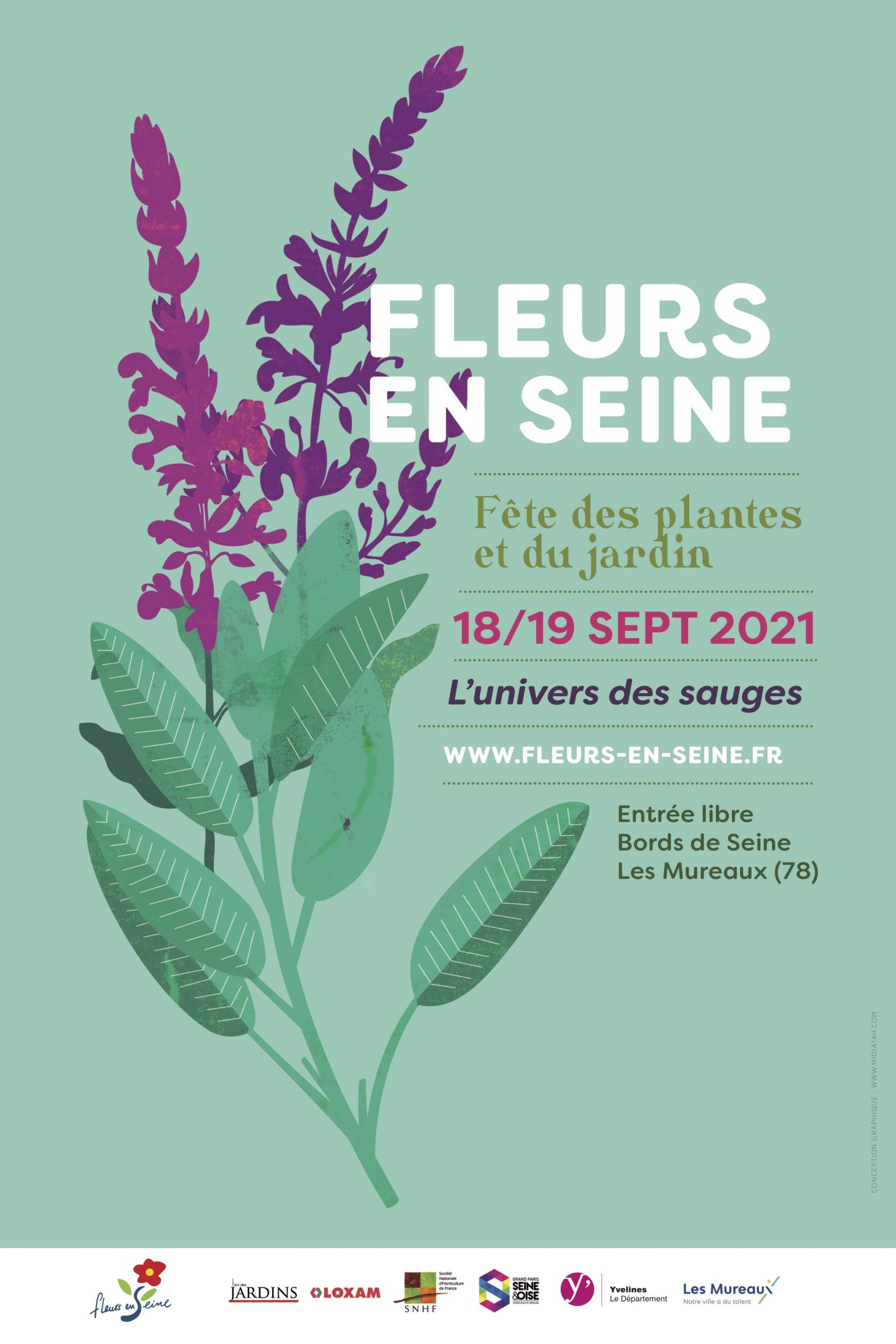 Fleurs en Seine